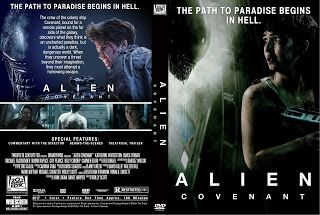 Alien Covenant Dvd Cover With Images Dvd Covers Alien