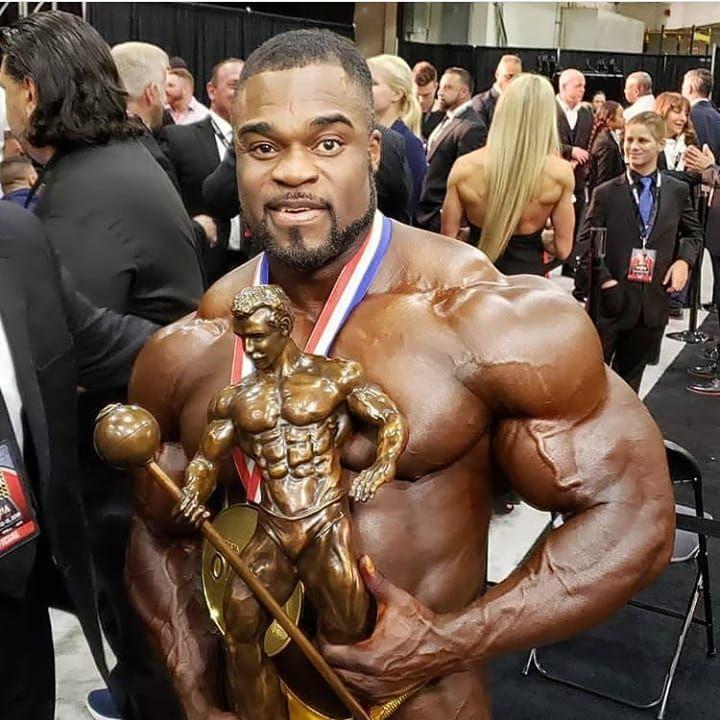#fitness Congratulations to the new Mr.Olympia brandon__curry . ifbb_bodybuildingscience ifbb_bodybu...