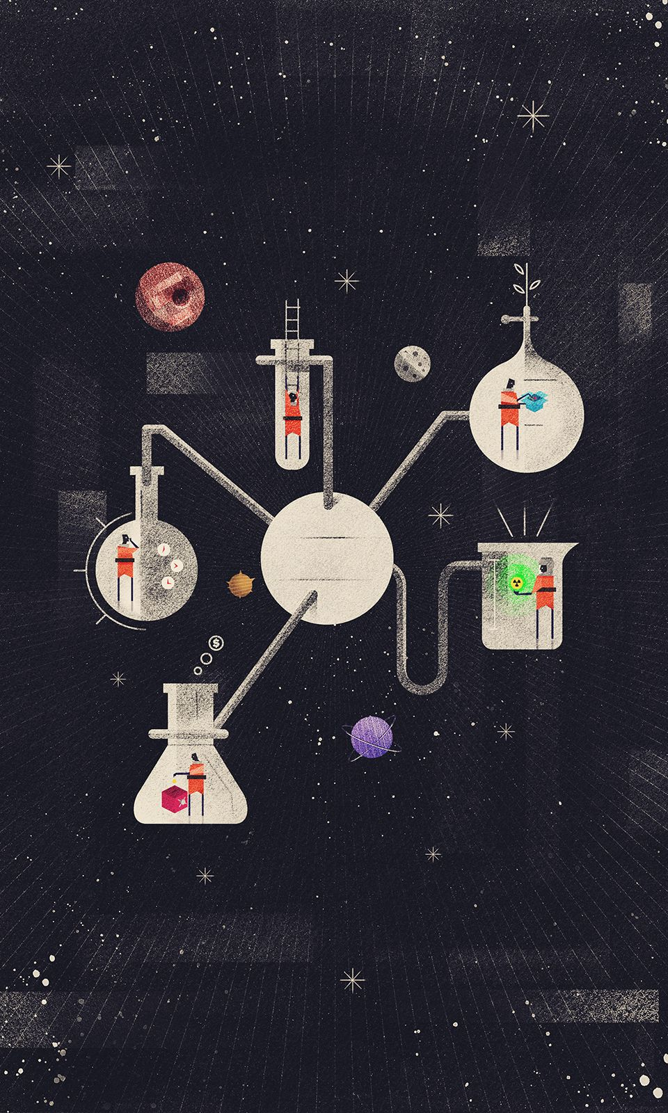 Wired UK August - Dan Matutina is Twistedfork   Chemical Reactions ...