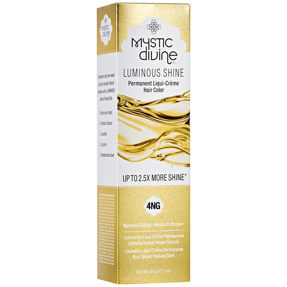 4NG Natural Golden Medium Brown LiquiCreme Permanent Hair