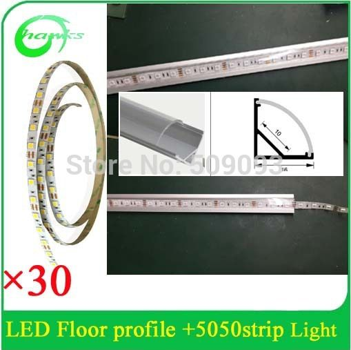 Aliexpress Com Buy Led Aluminum Profile With Led Flexible Strip 5050 Non Waterproof From Reliable Aluminium Profi Led Aluminum Profile Led Flexible Strip Led