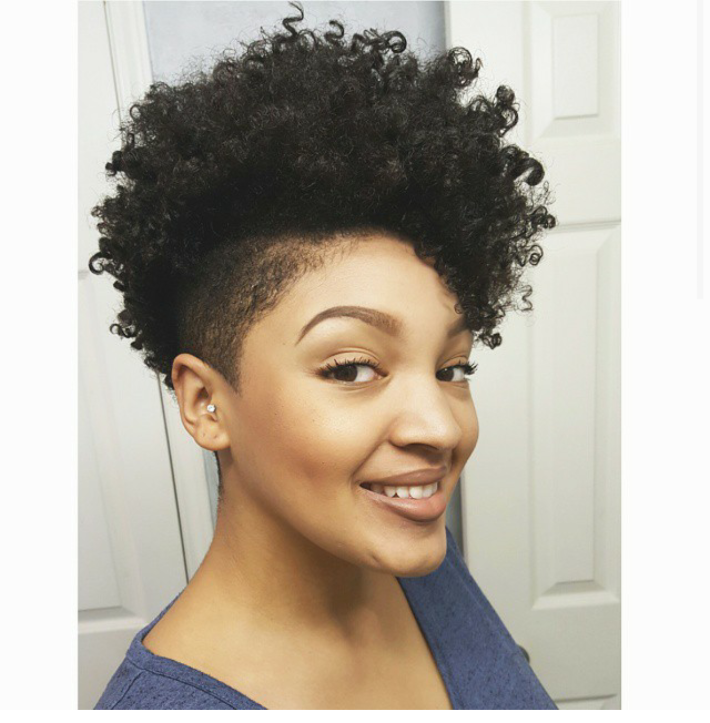 tapered afro gray Google Search _Cabeleira_Hair