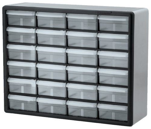 Akro Mils 10724 24 Drawer Plastic Parts Storage Hardware And Craft Cabinet 20