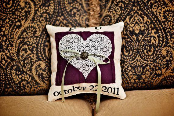ring bear pillow