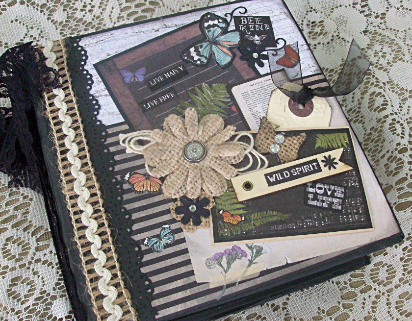 CCCC Debi Prima forever Premade pages Flip book Scrapbook Mini Photo album book  #PrimaMarketing