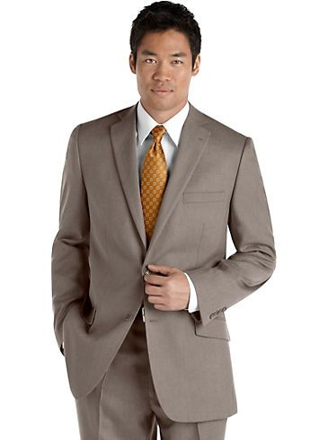 Suits - Marc Ecko Brown Slim-Fit Suit - Men's Wearhouse
