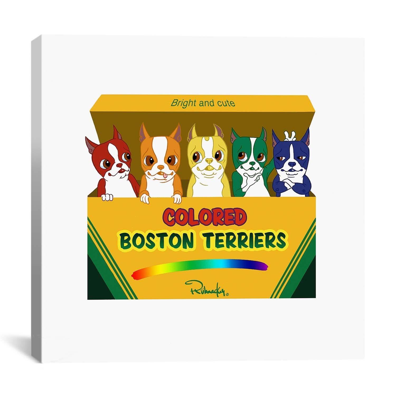 iCanvas Brian Rubenacker BTs of Color Canvas Print Wall Art | Boston ...