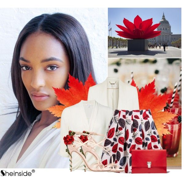 Sheinside Skirt Contest by tijana-djekic on Polyvore featuring Chloé, Dolce&Gabbana, Proenza Schouler and Sheinside
