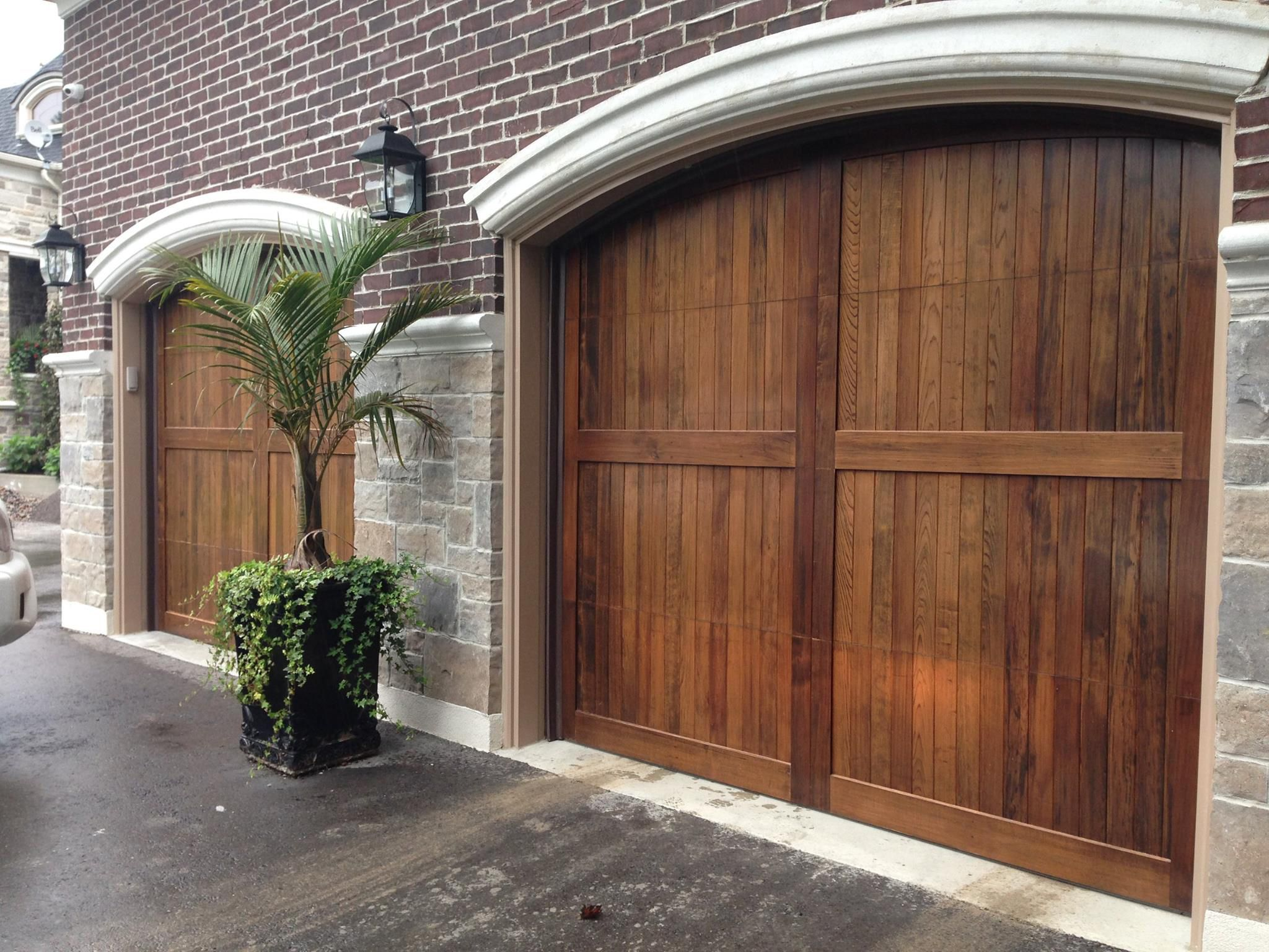 Wood Carriage House Garage Doors By C H I Www Chiohd Com