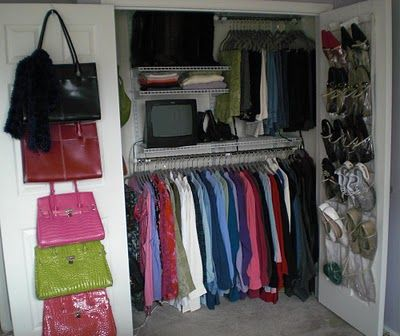 The Homesteading Cottage: An Organized Closet | Closet ...