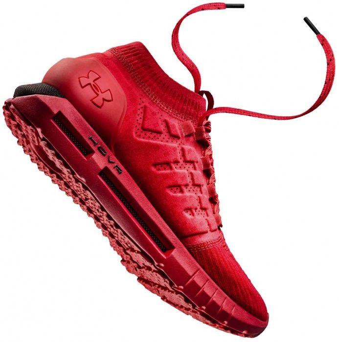 men's ua hovr phantom running shoes red
