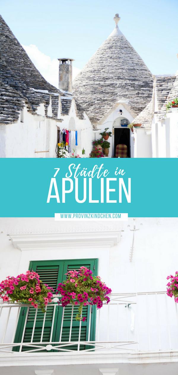 Italien Roadtrip: 7 Städte in Apulien die du besuchen musst. #roadtrip #italien #reisen #apulien