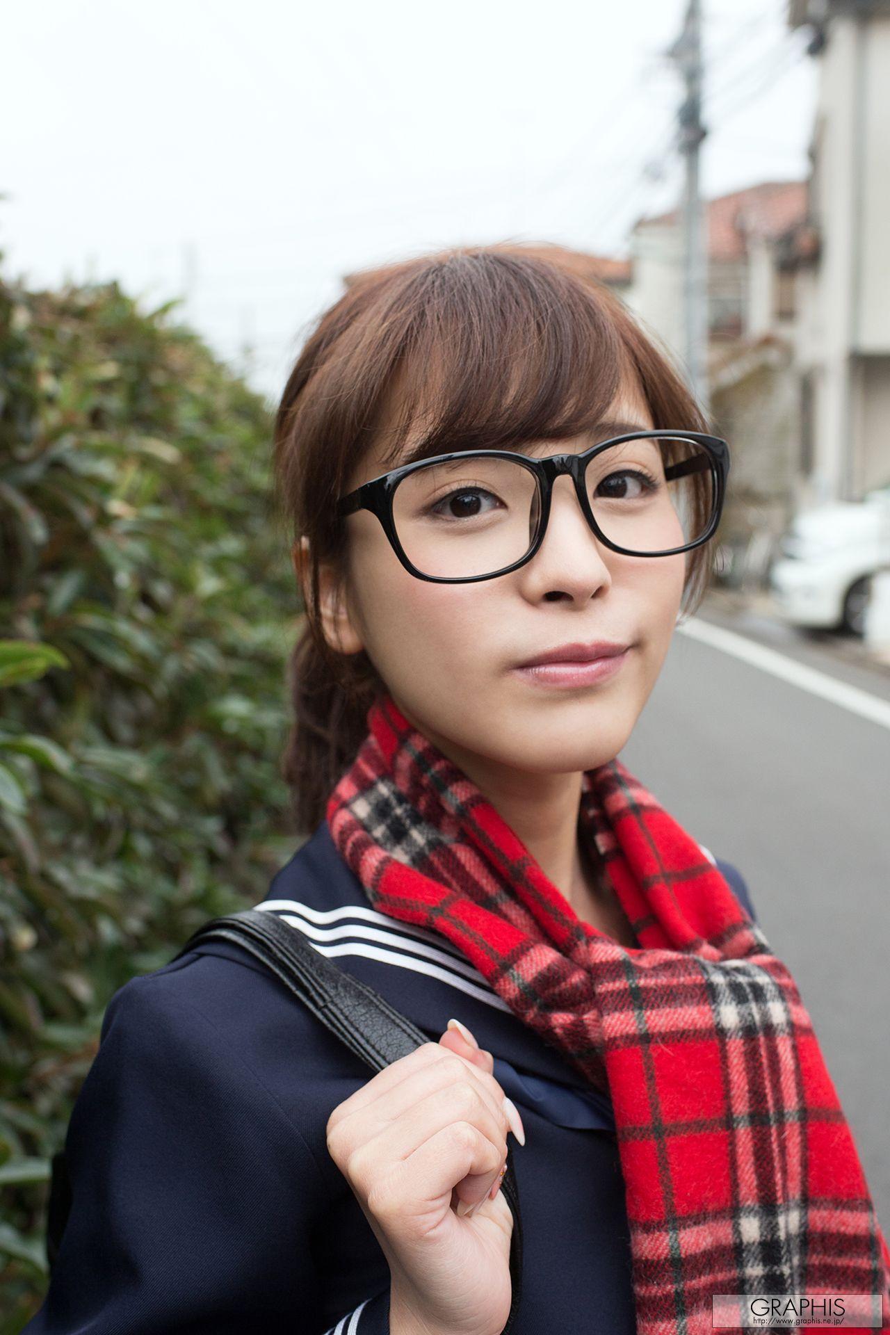 Japanese naked girls glasses