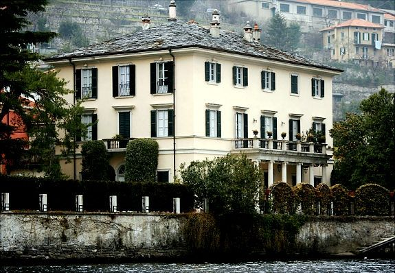 Celebrity Homes Celebrity Houses George Clooney Lake Como
