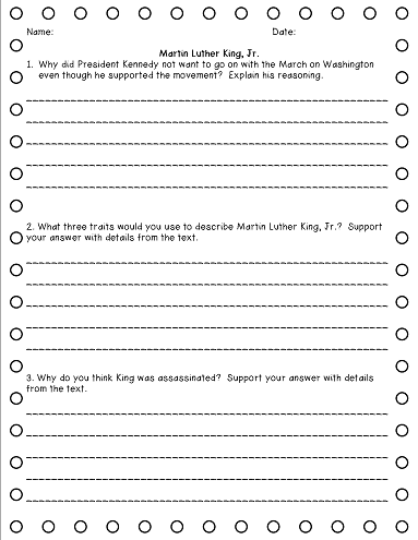 Ideas to help kids Restate the Question in the Answer