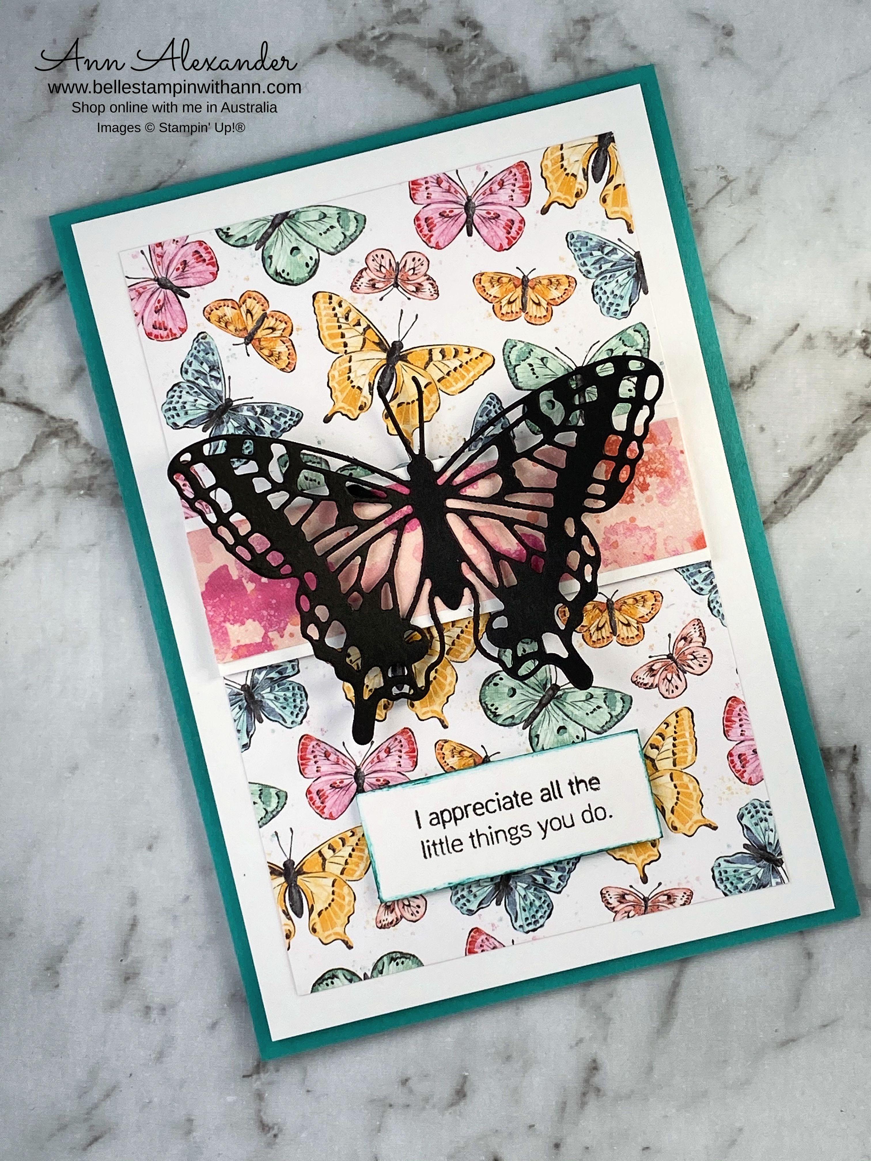 Ann Alexander - Butterfly Bouquet - Stampin' Up!