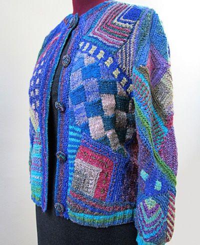 Las prendas tejidas de Myra Wood | Diseño textil, Tejido y Industria