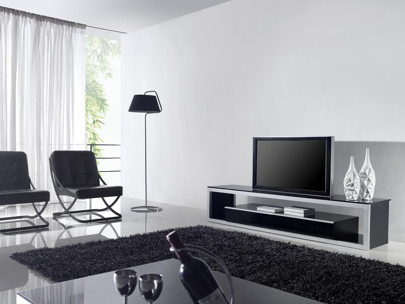minalist | Eye Catching Minimalist Living Room With Modern TV ...