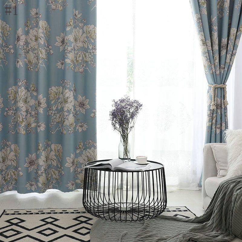 Rideau occultant imprimé pour chambre à coucher chambre d\u0027enfant