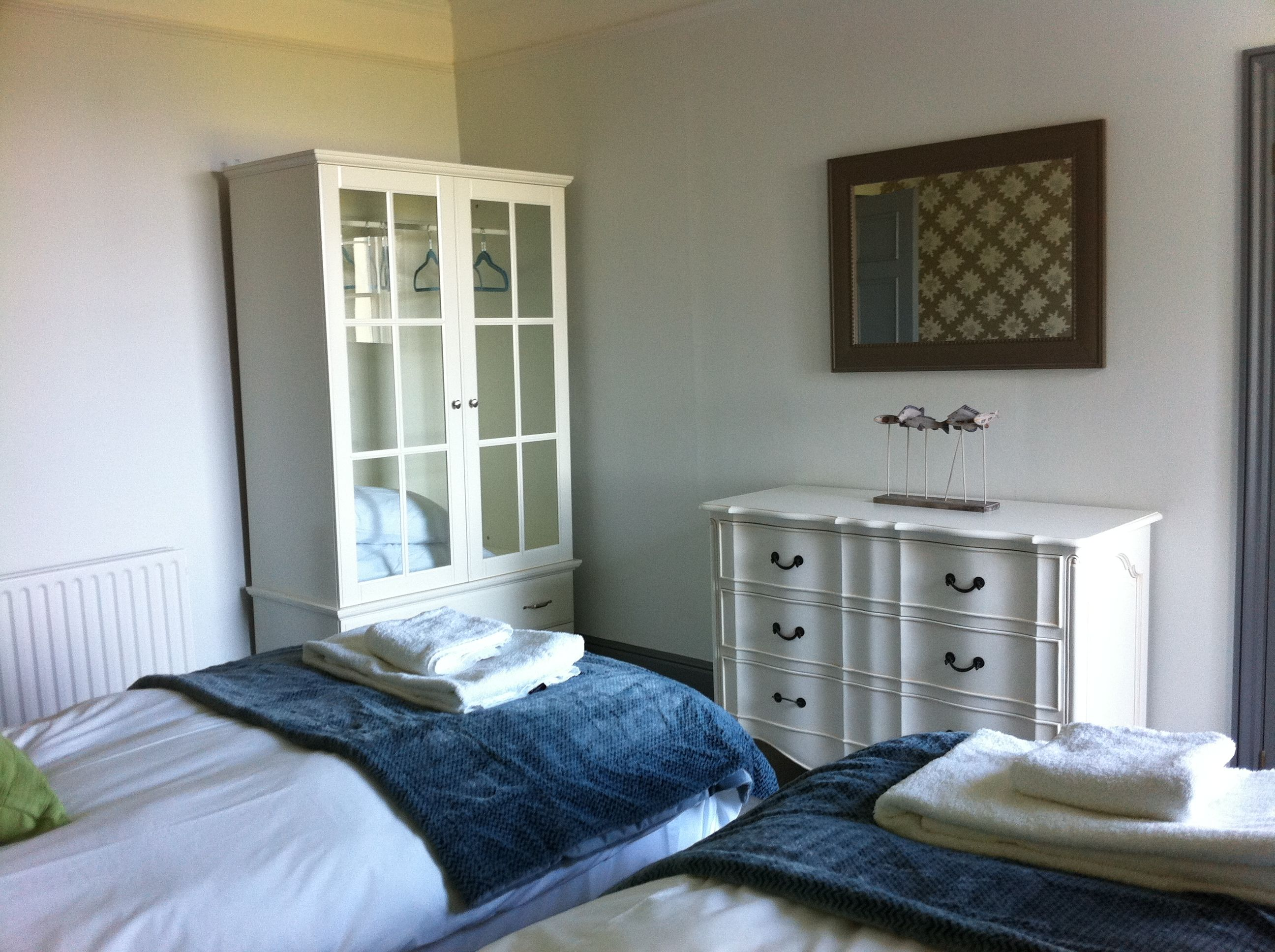 Shabby Chic Modern Bedroom Restored Furniture Gives A Traditional Feel To A Modern Bedroom