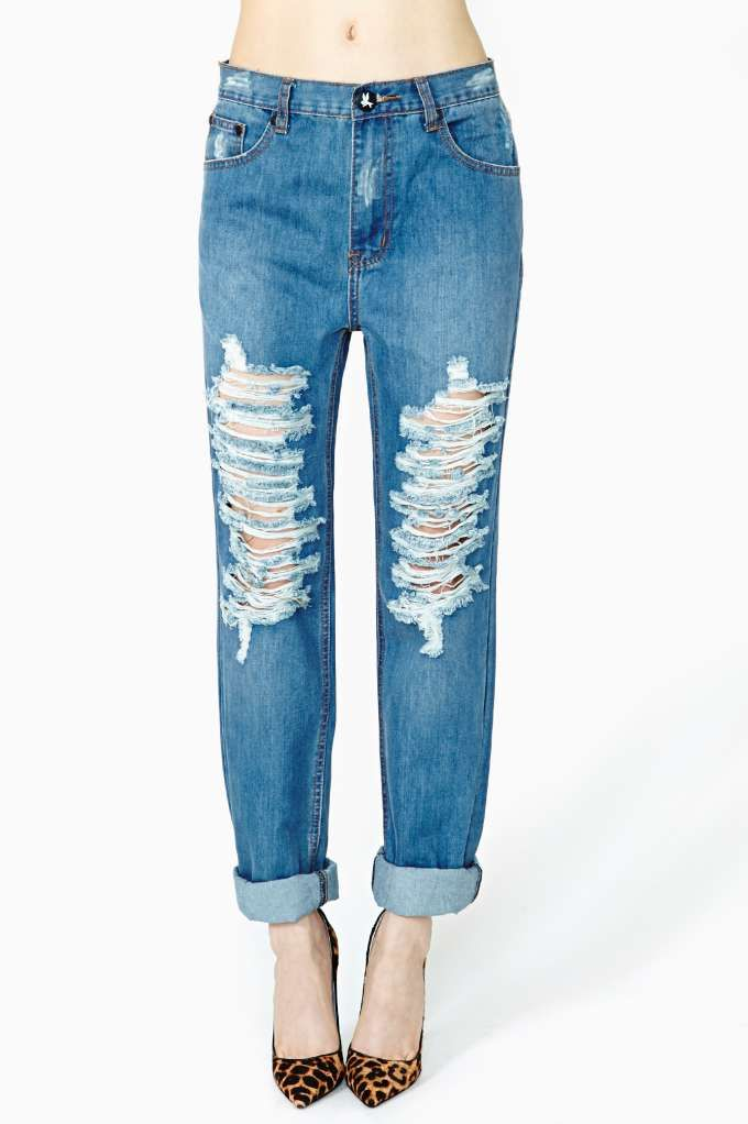 Rich and skinny boyfriend jeans sale