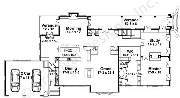 Charleston | Traditional House Plans | Luxury House Plans ...