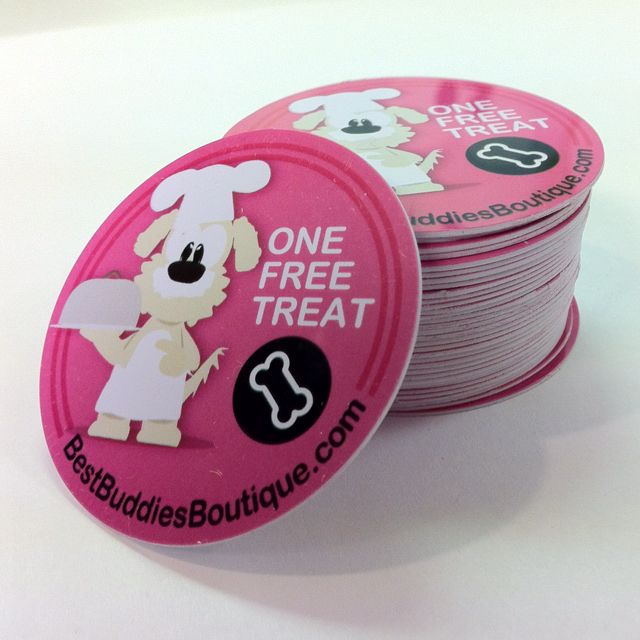 Best Buddies Treat Tokens: redeemable for FREE treats!