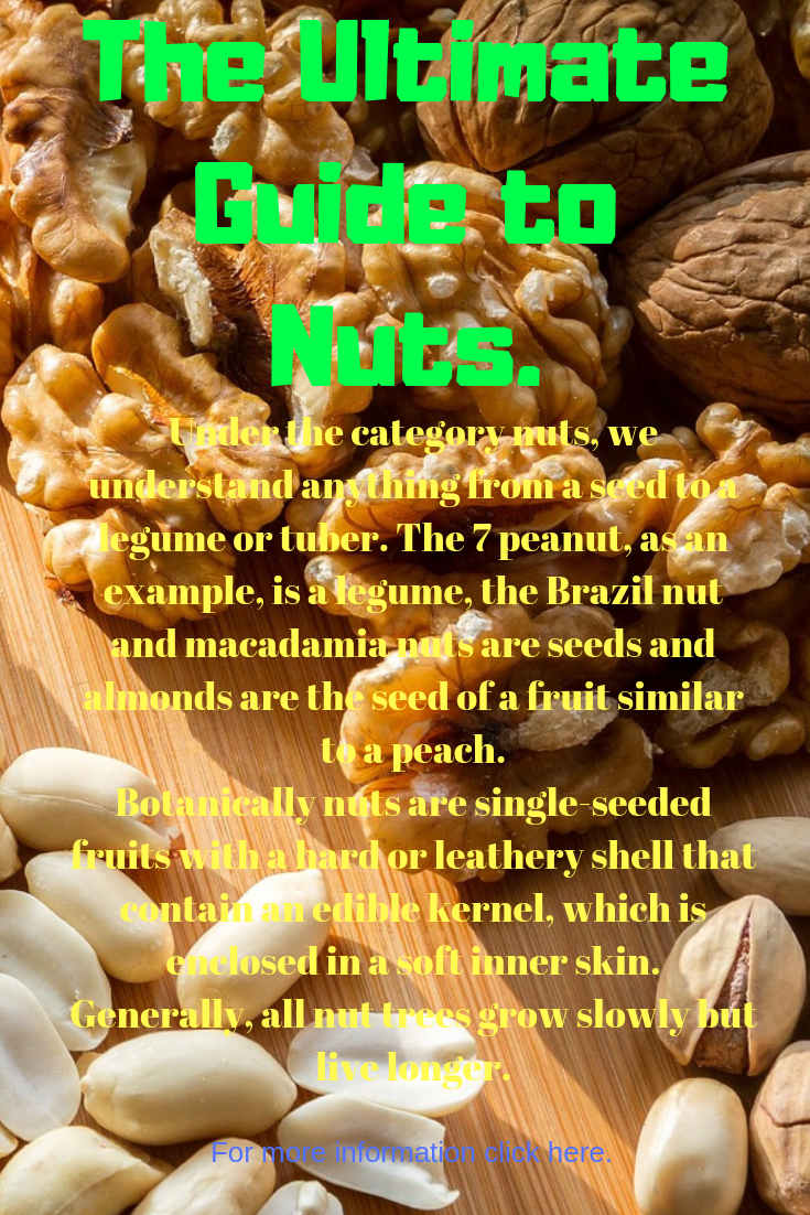 The Ultimate Guide To Nuts Healthy Recipes Food Healthy Diet