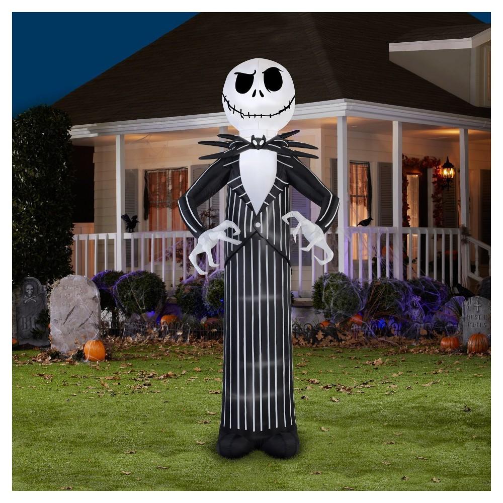 Halloween Giant Disney Jack Skellington Airblown in 2020 | Halloween outdoor decorations. Halloween decorations diy outdoor. Halloween diy outdoor