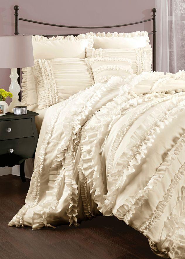 Ivory Belle Comforter Set Bedroom Pinterest Comforter, Belle