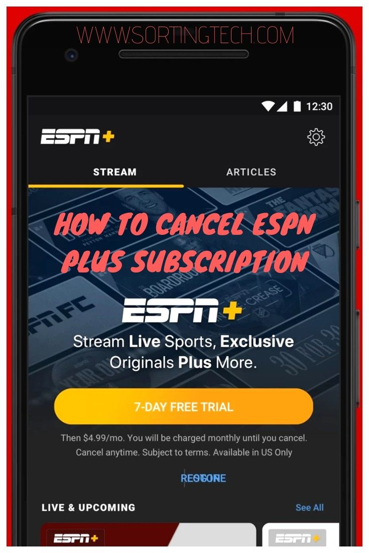 How to cancel espn plus subscription in 2020 espn