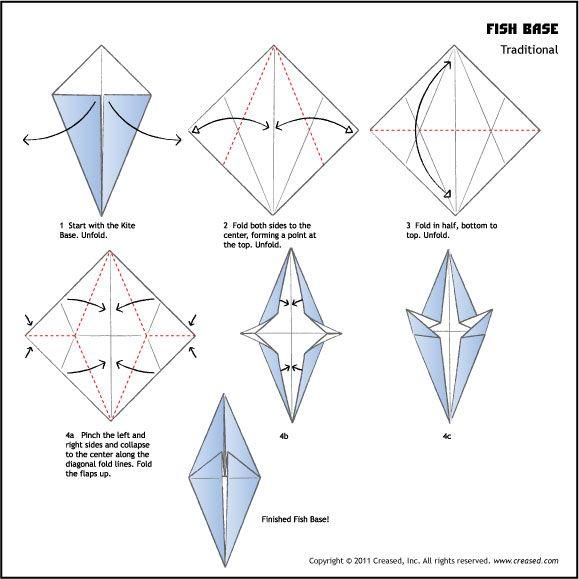 origami frog base my blog