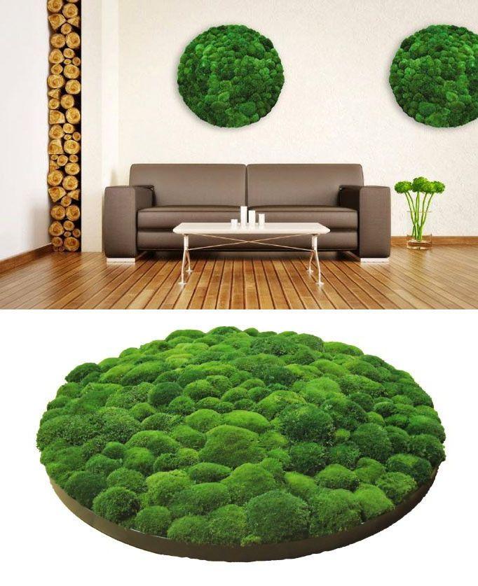 diese fabelhaften moos platten verzaubern jede deiner w nde garten. Black Bedroom Furniture Sets. Home Design Ideas