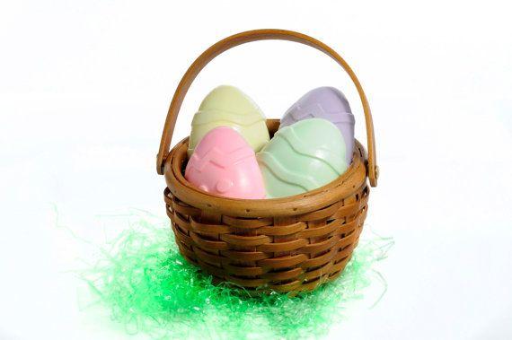Easter egg gift basket spring soap pastel colors by latikasoap easter egg gift basket spring soap pastel colors by latikasoap 2499 negle Images
