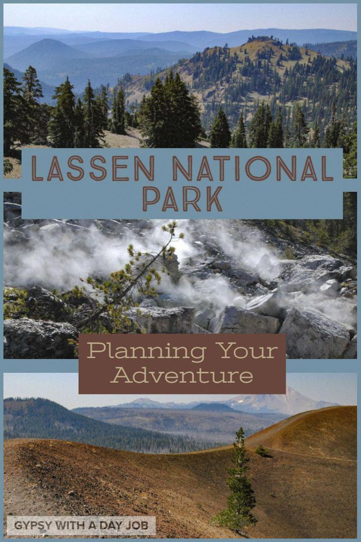 Lassen Volcanic National Park may be one of the lesser known US National Parks, but visiting Lassen National Park should be on your list!  Our Lassen Volcanic National Park Trip Planner gives you everything you need to plan your adventure, without a big crowd.  #nationalparks #nps #unitedstatestravel #california #travelbucketlist