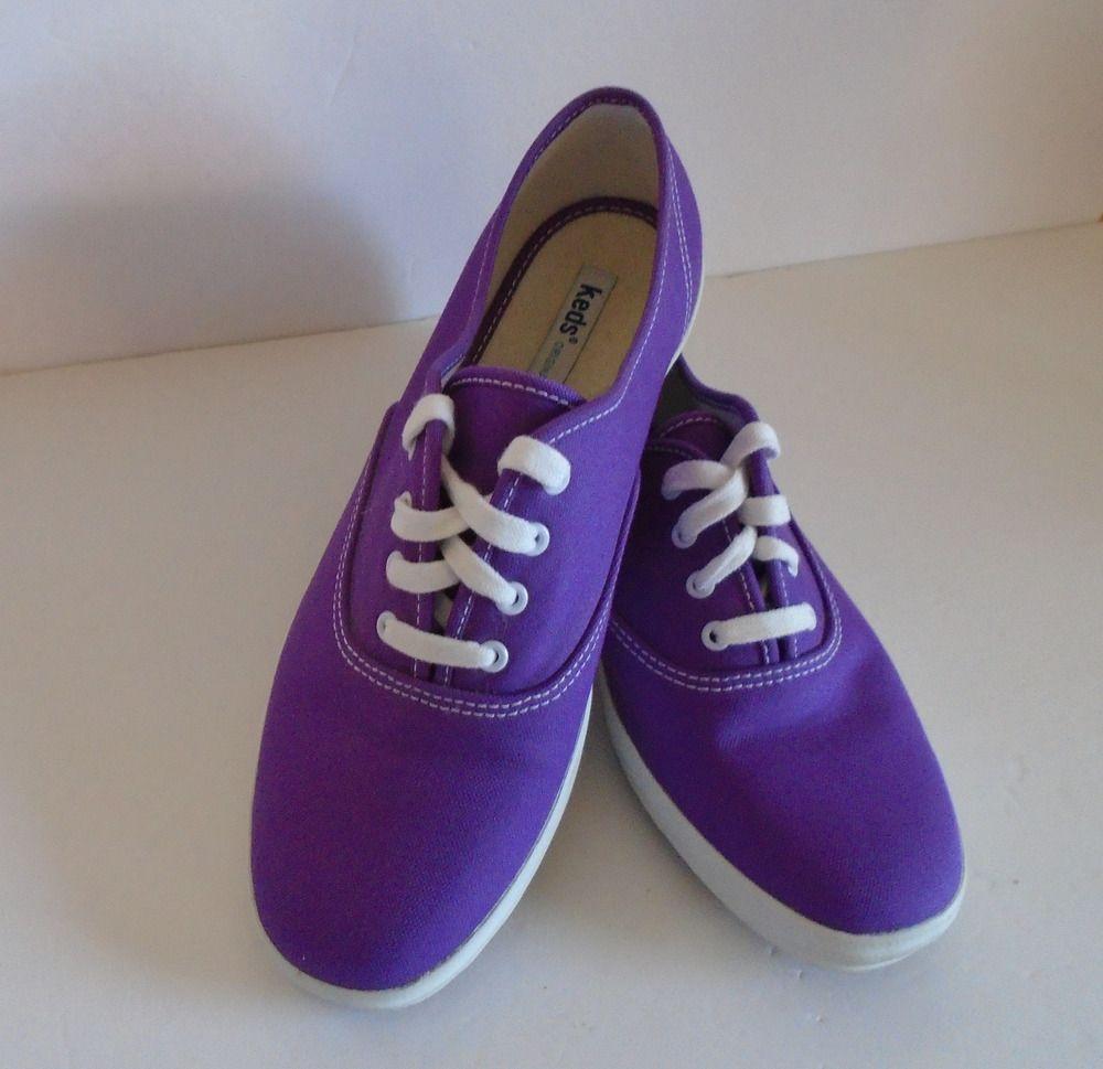 1d9177ed267 Keds Original Size 8 M Women s Purple Sneakers Tennis Shoes  Keds   TennisShoes