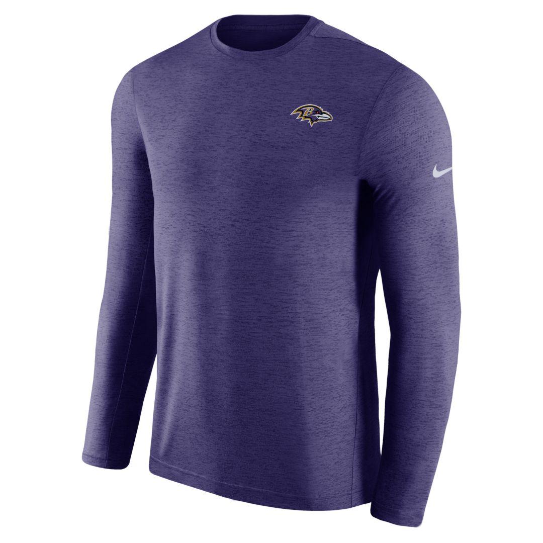 472fcdaa Nike Dri-FIT Coach (NFL Ravens) Men's Short Sleeve Football Top Size XL  (New Orchid)