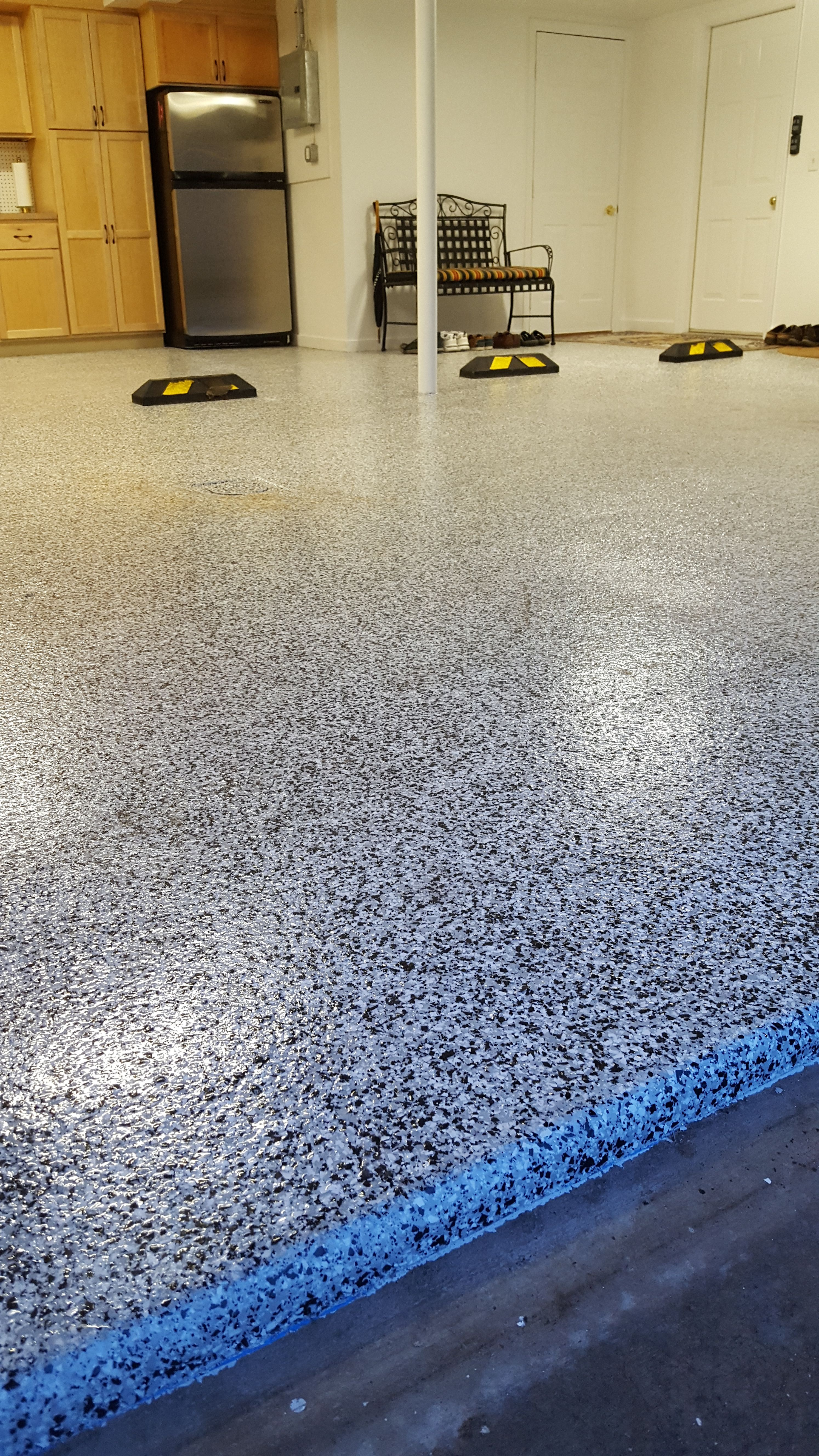 Garage Epoxy Cure Time A Polyaspartic Coating Is Similar To An Epoxy Floor Coating It