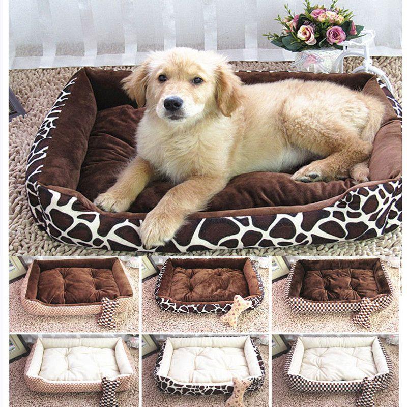 6 colors option Hand & Machine washable pet bed nest large