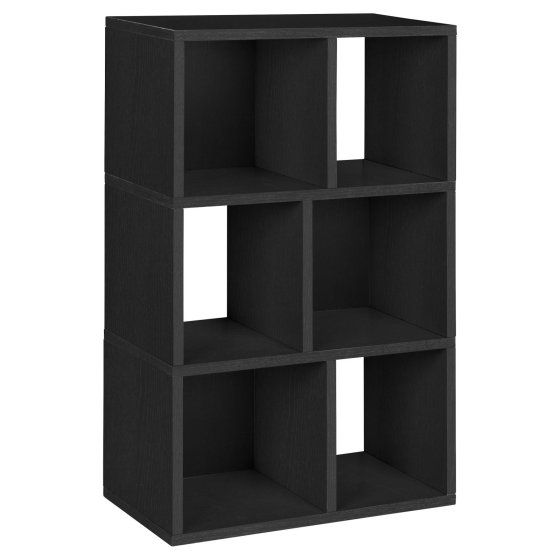 Incroyable Way Basics Eco 3 Shelf Laguna Bookcase And Cubby Storage, Black | КМ Полки  Стойки | Pinterest | Cubby Storage, Shelves And Storage