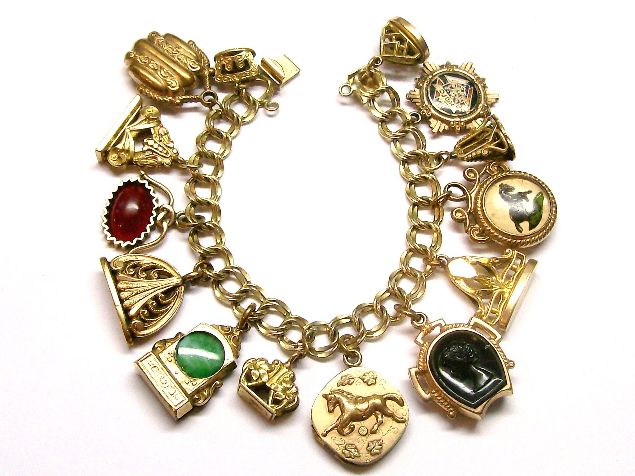 My Antique Watch Fob Bracelet