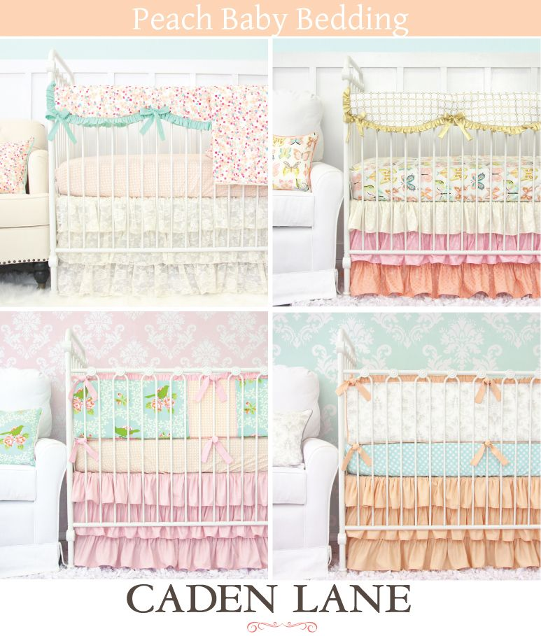 Peach Crib Bedding Perfect For The S