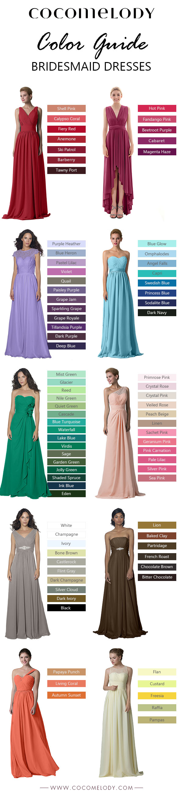 Shop bridesmaid dress by color 82 colors are available here shop shop bridesmaid dress by color 82 colors are available here shop your picks now ombrellifo Image collections