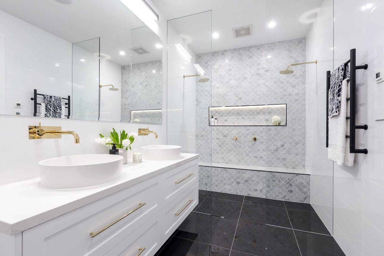 The Block 2016 - Week 3 Main Bathroom Reveals   The block ...