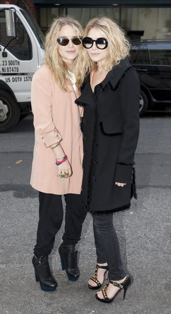 Claus Fashion Link: Mary kate e Ashley Olsen