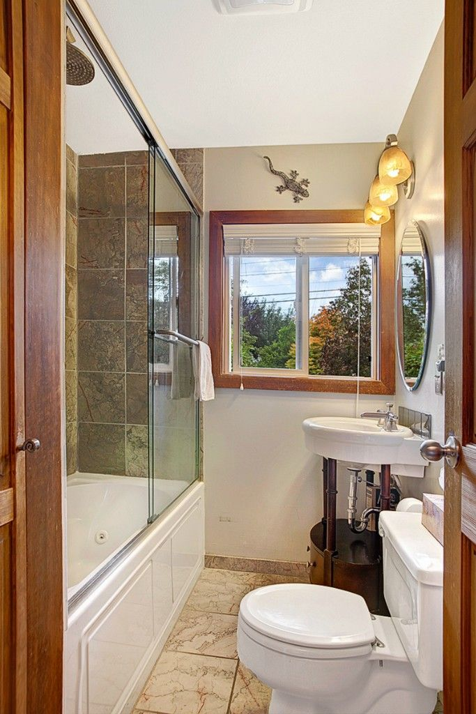 bathroom small space design%0A Shower tub for small space