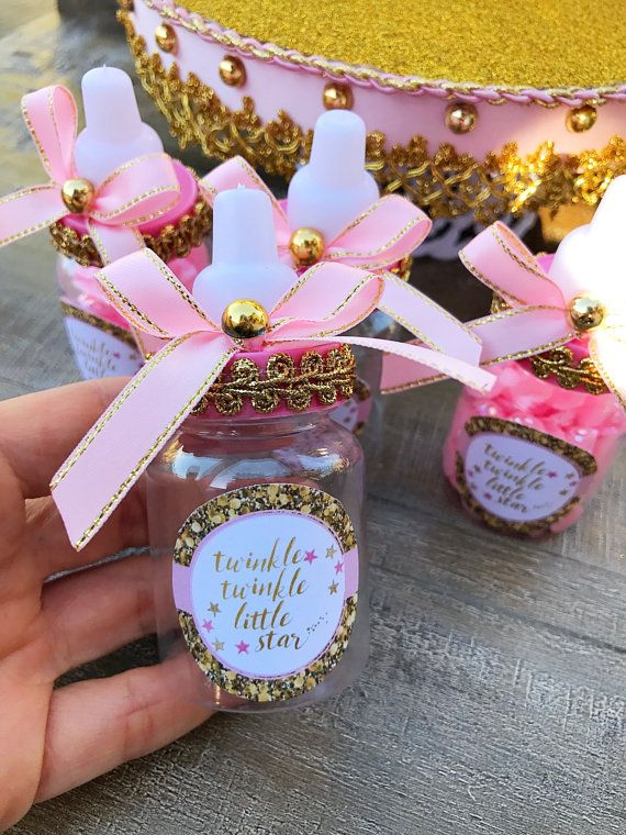 12 Twinkle Twinkle Baby Shower Favors Pink And Gold Twinkle Twinkle