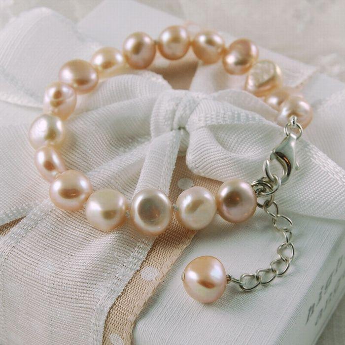 48f765c03 Highland Angel's extending freshwater pearl bracelet. | Fashion ...