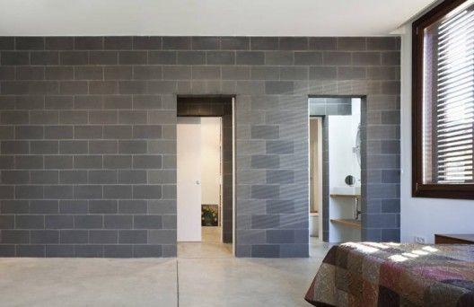 House 804 H Arquitectes Cinder Block Walls Concrete Block Walls Cinder Block House