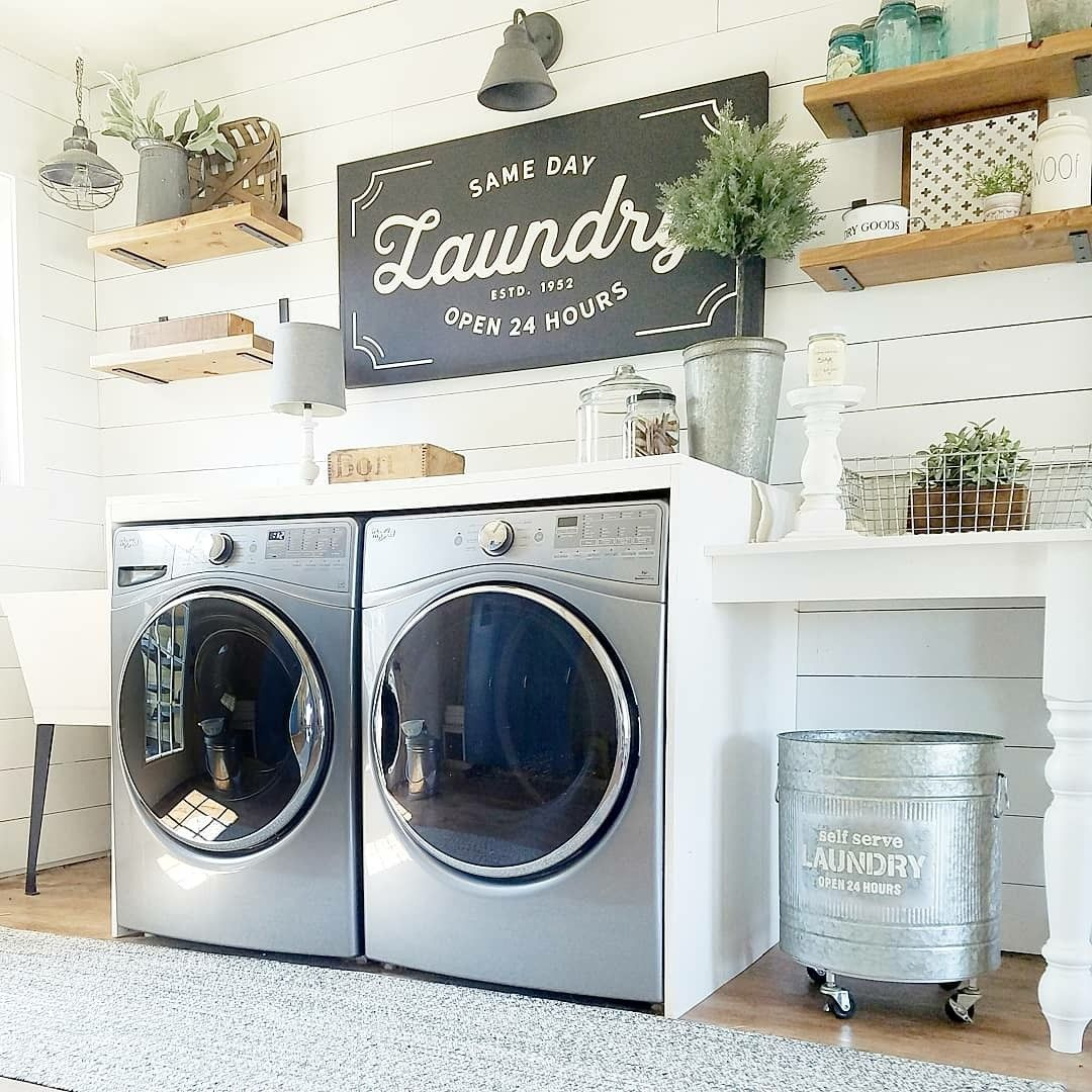 53 Neat And Tidy Laundry Room Space Organization Ideas images